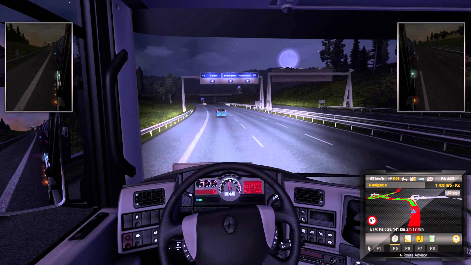 Euro Truck Simulator 2 – moje jízda po Anglii