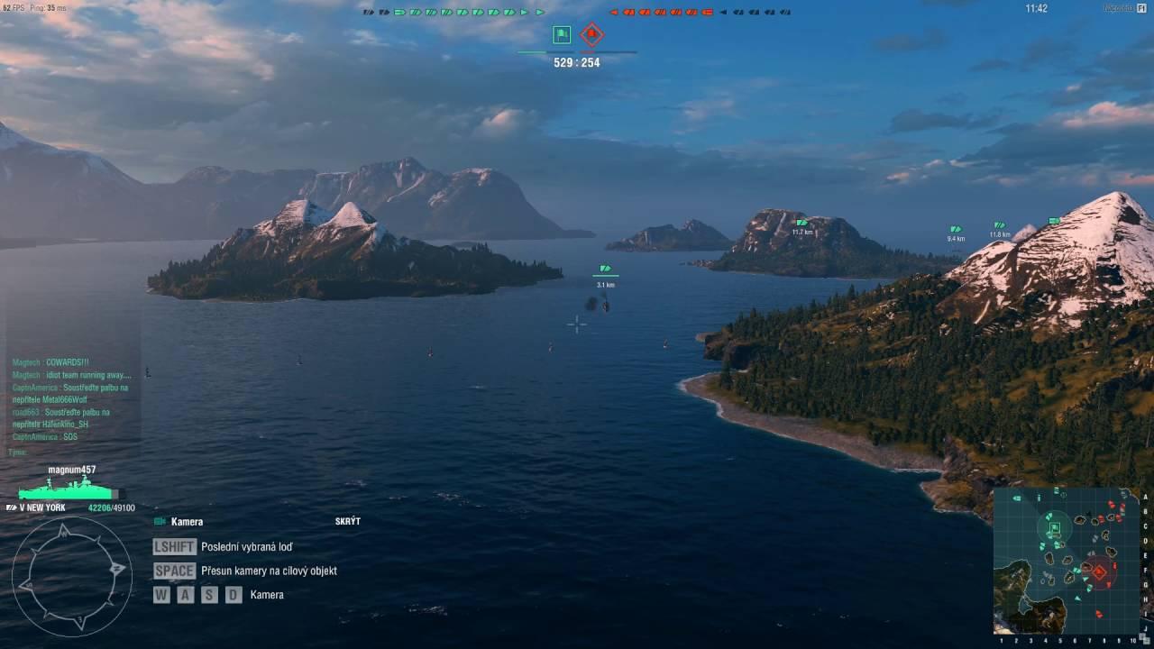 World of Warships 29 – aktualizace 0.5.7