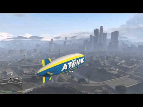 GTA V – můj výlet vzducholodí