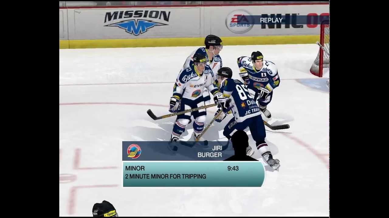 HC Vítkovice, Přátelský zápas pro NHL 09
