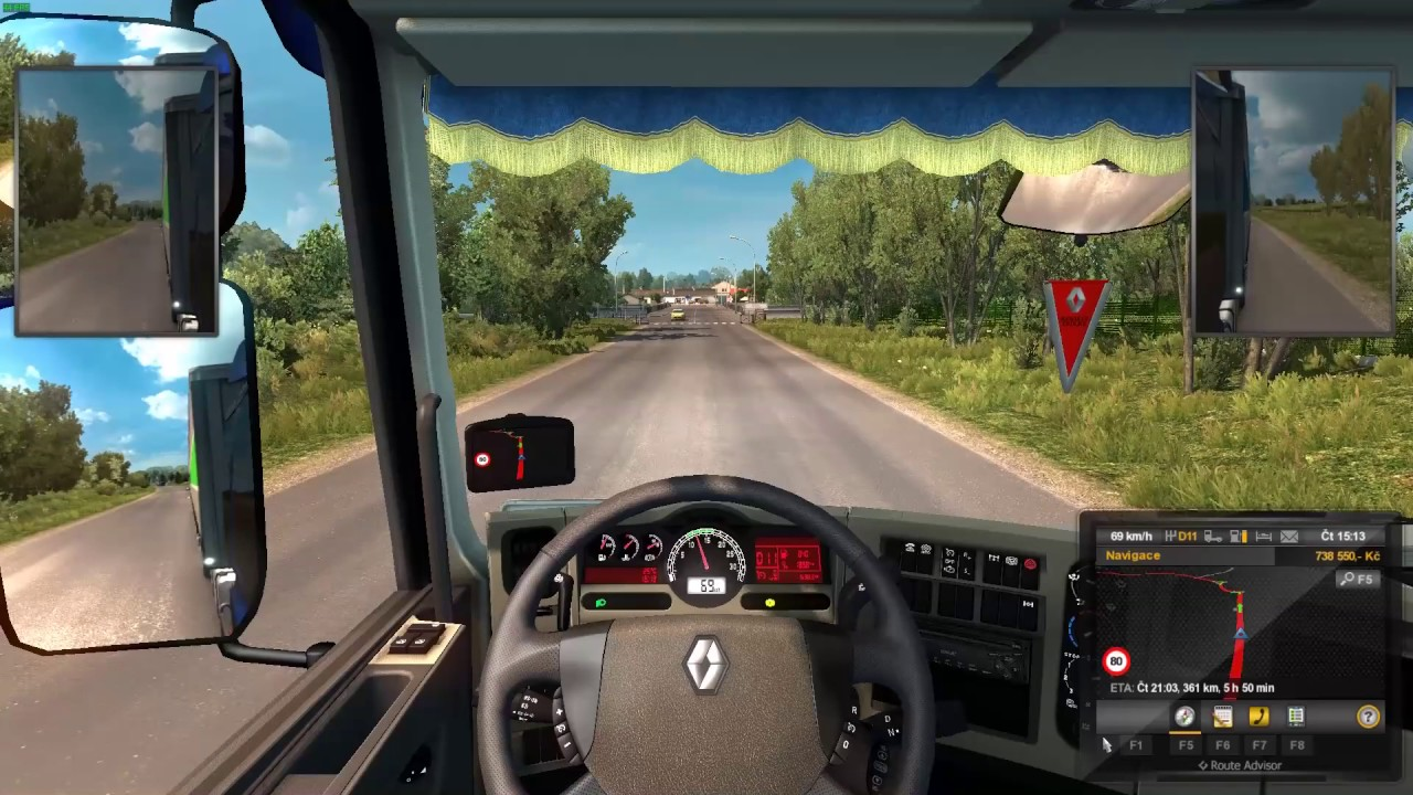 Euro Truck Simulator 2  Bourges – Nantes
