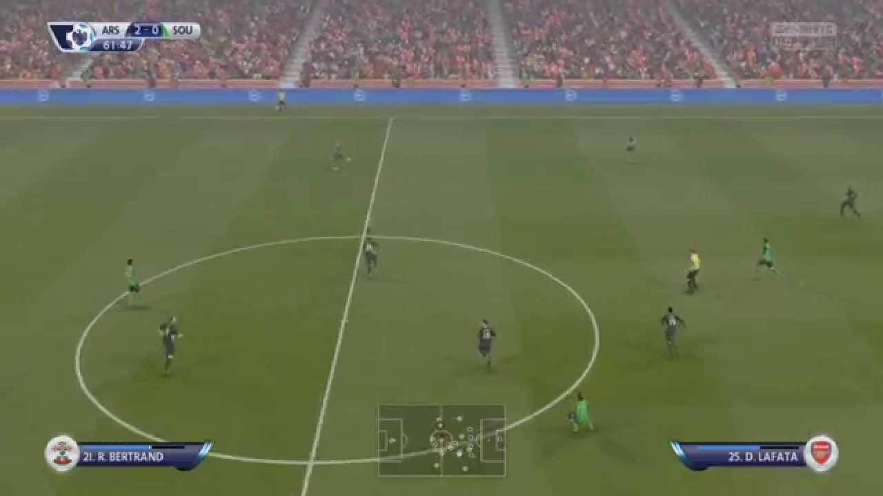 Arsenal FC:Southampton FC – 6:0