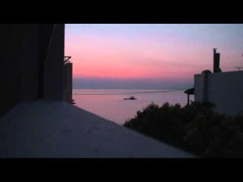 Východ slunce na Krétě