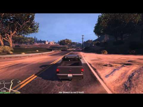 GTA V – CZ (PC) – gameplay 43