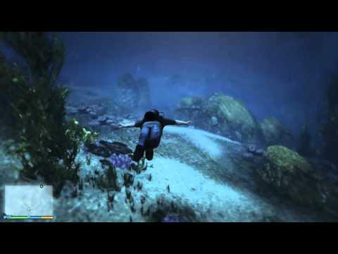 Grand Theft Auto V – hledání kousků roztříštěné ponorky #12