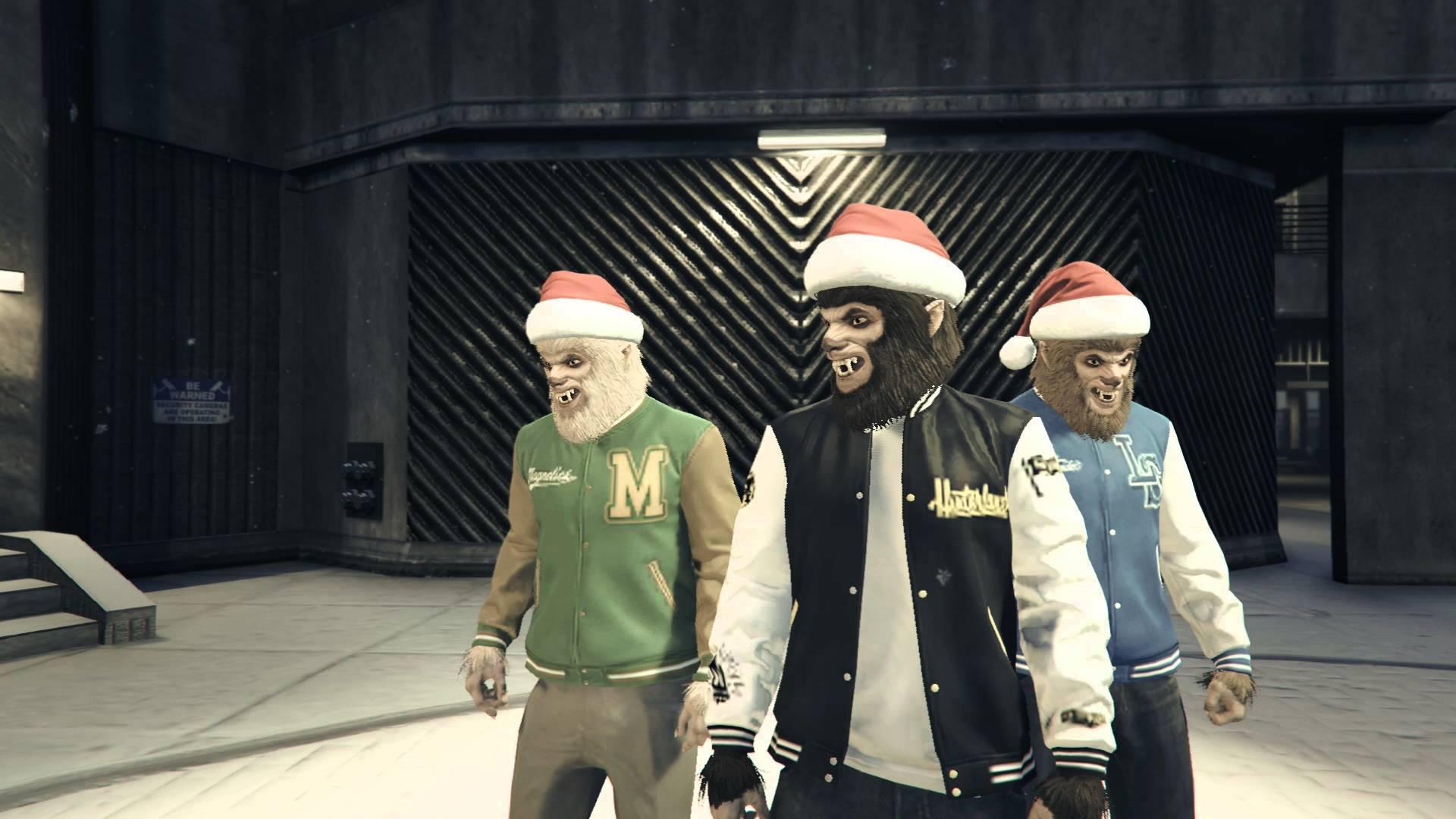Grand Theft Auto V – Vánoční řádění #01