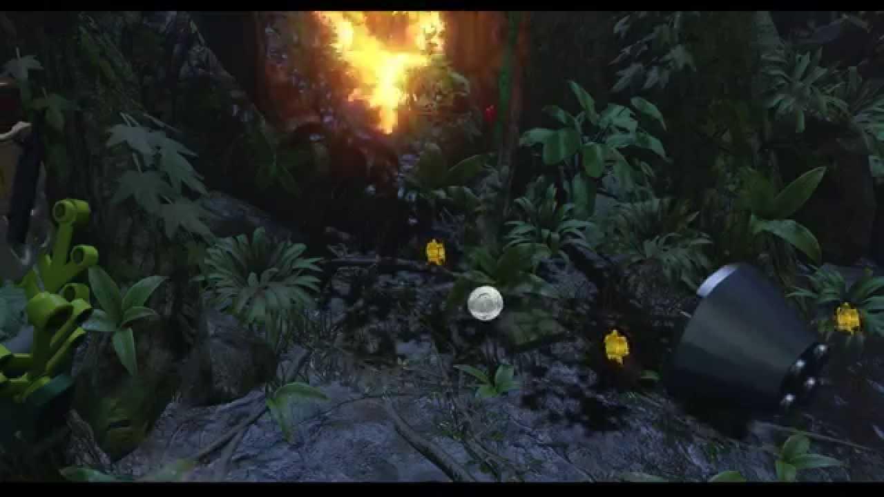 LEGO Jurassic World – Gameplay Walkthrough HD 21 (Under Attack) – 50p