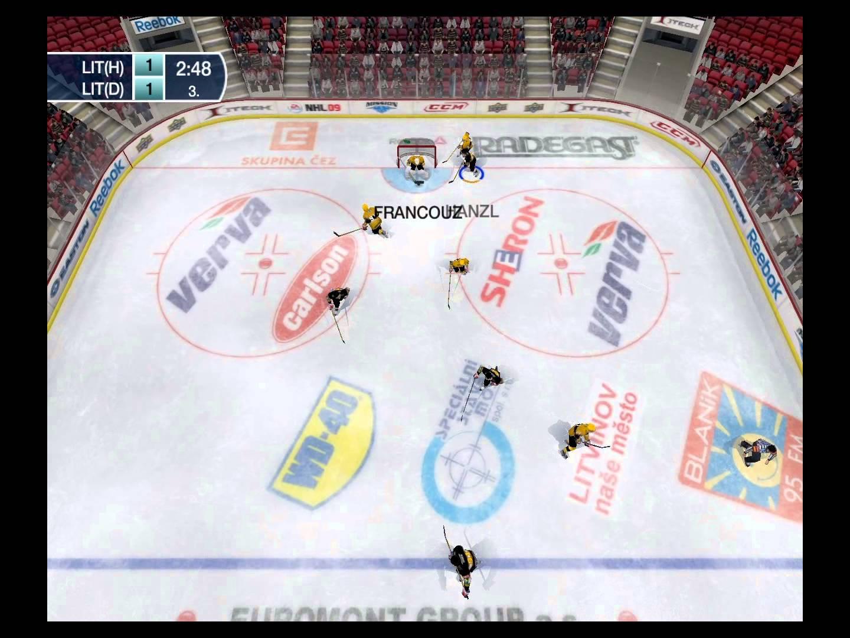 Litvínov-Litvínov v NHL 15 (PC)