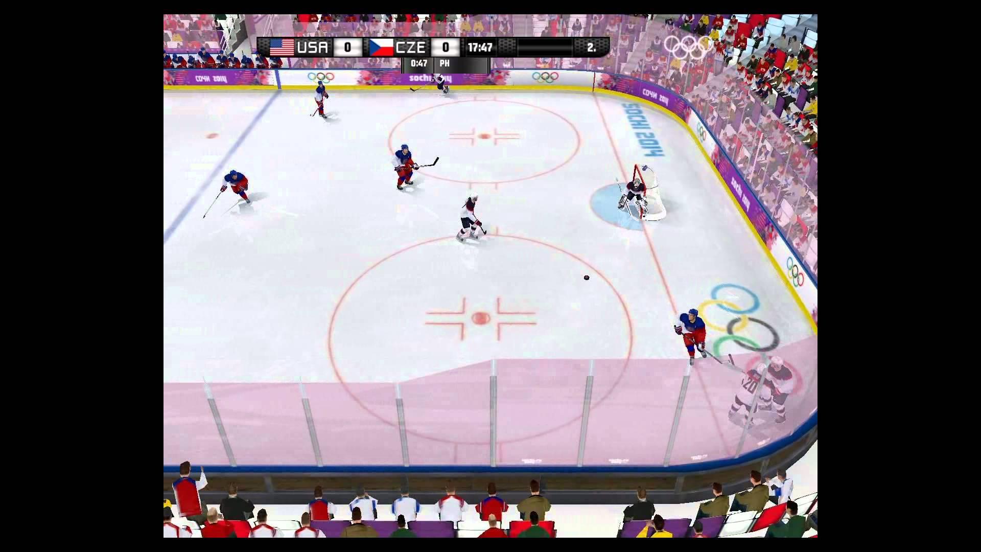 USA/CZE Simulace v NHL 09