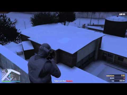 Grand Theft Auto V – Vánoční řádění #02