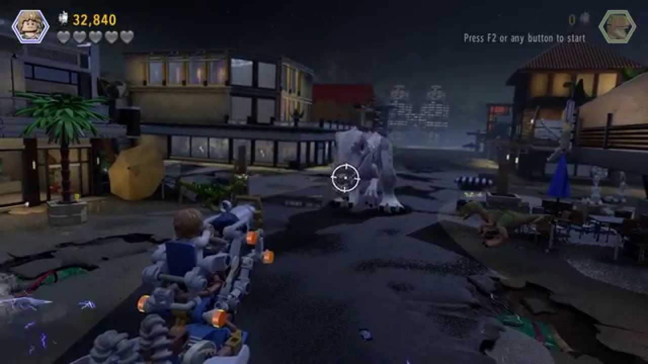 LEGO Jurassic World – Gameplay Walkthrough HD 22 (Jurassic World – story complete) – 50p