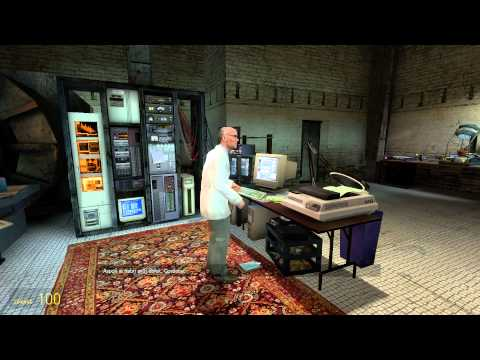 Half-Life 2 HD (CZ) – gameplay 01