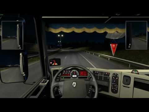 Euro Truck Simulator 2 – Dijon – Paříž s 1.26 Update