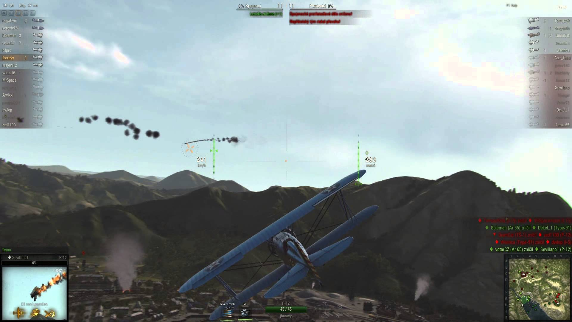World of Warplanes moje hra 2