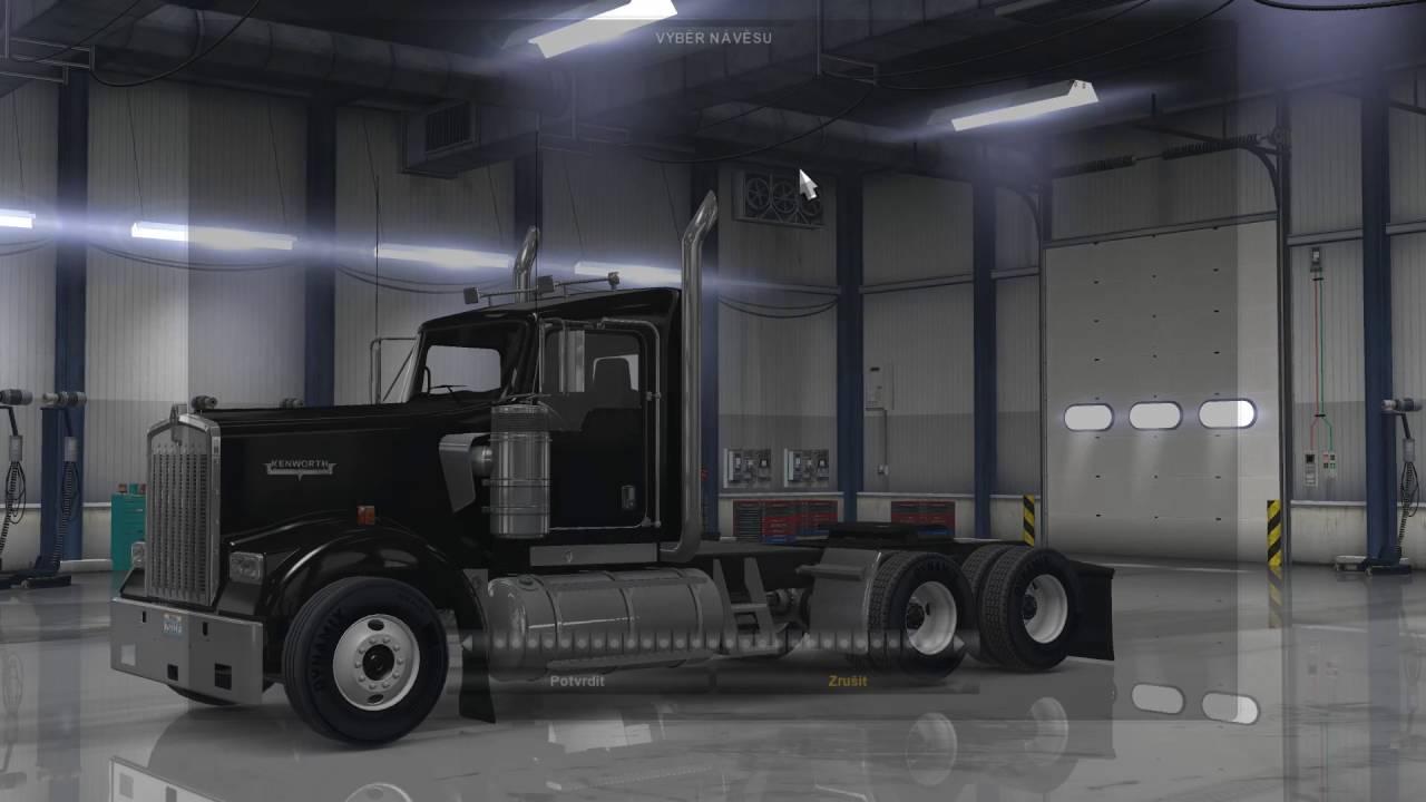 American Truck Simulator – výběr přívěsu