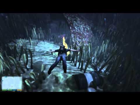 Grand Theft Auto V – hledání kousků roztříštěné ponorky #03