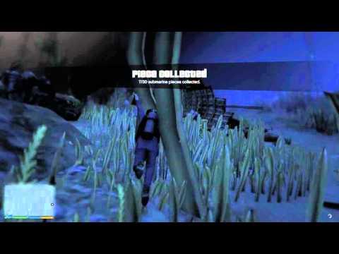 Grand Theft Auto V – hledání kousků roztříštěné ponorky #02