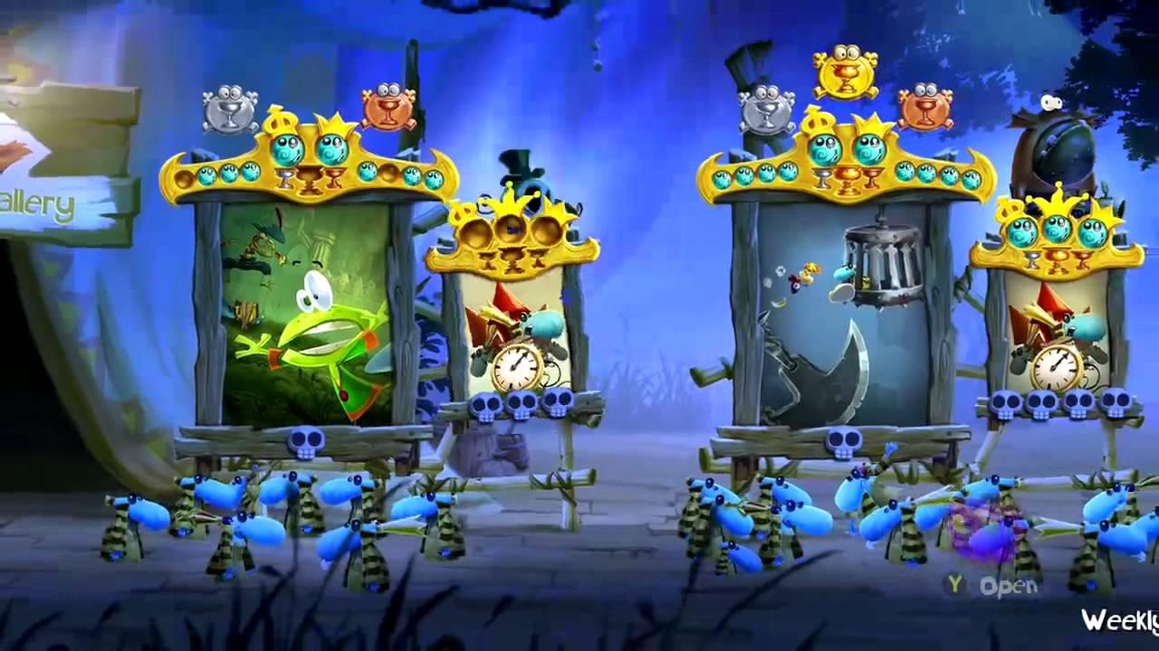 Levely v Rayman Legends