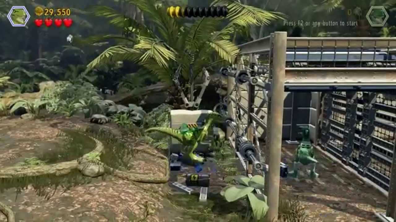 LEGO Jurassic World – Gameplay Walkthrough HD 18 (Welcome to Jurassic World)