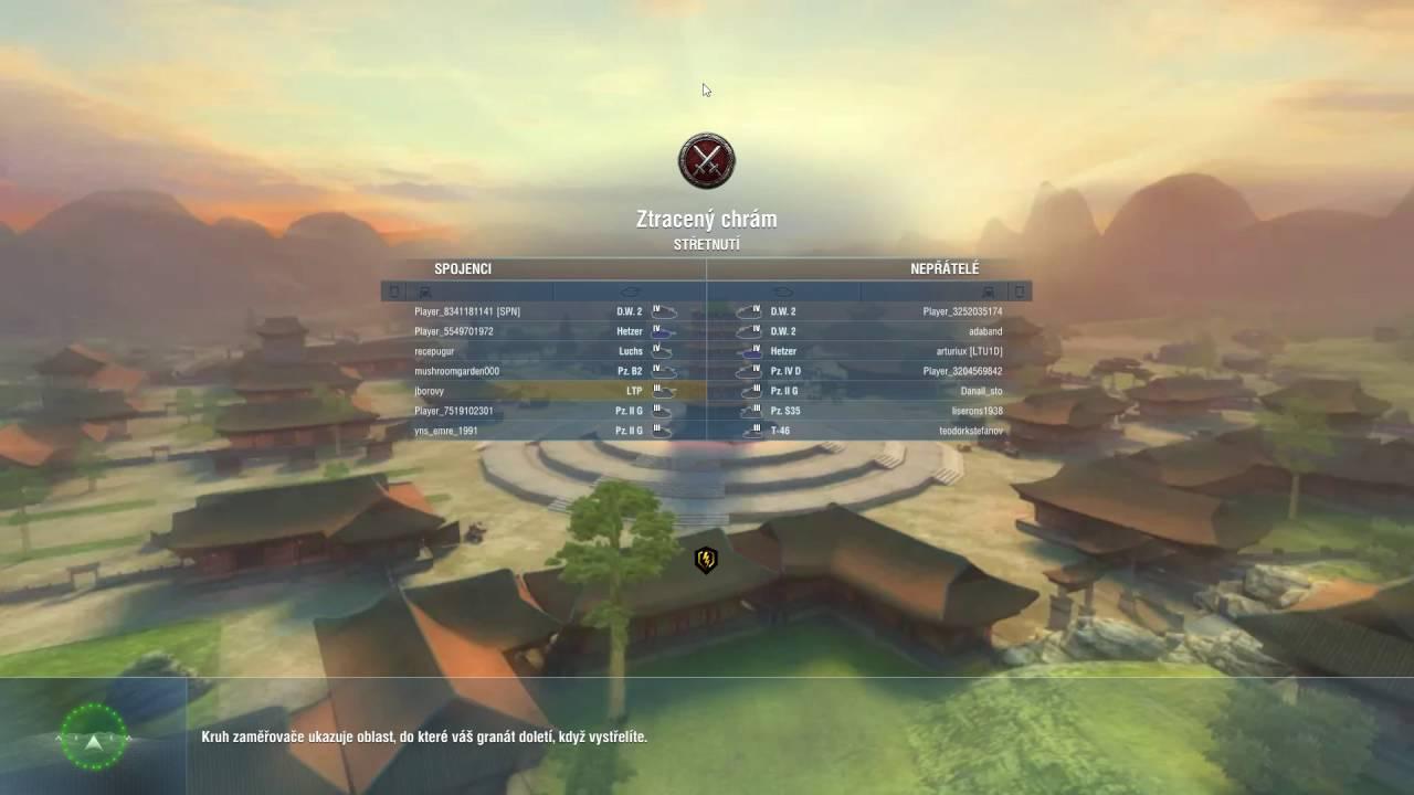 World of Tanks Blitz – první dva zápasy
