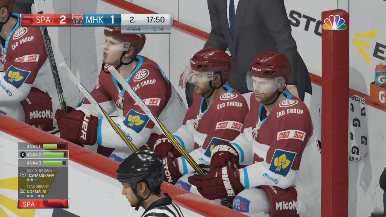Mountfield Hradec Králové:HC Sparta Praha