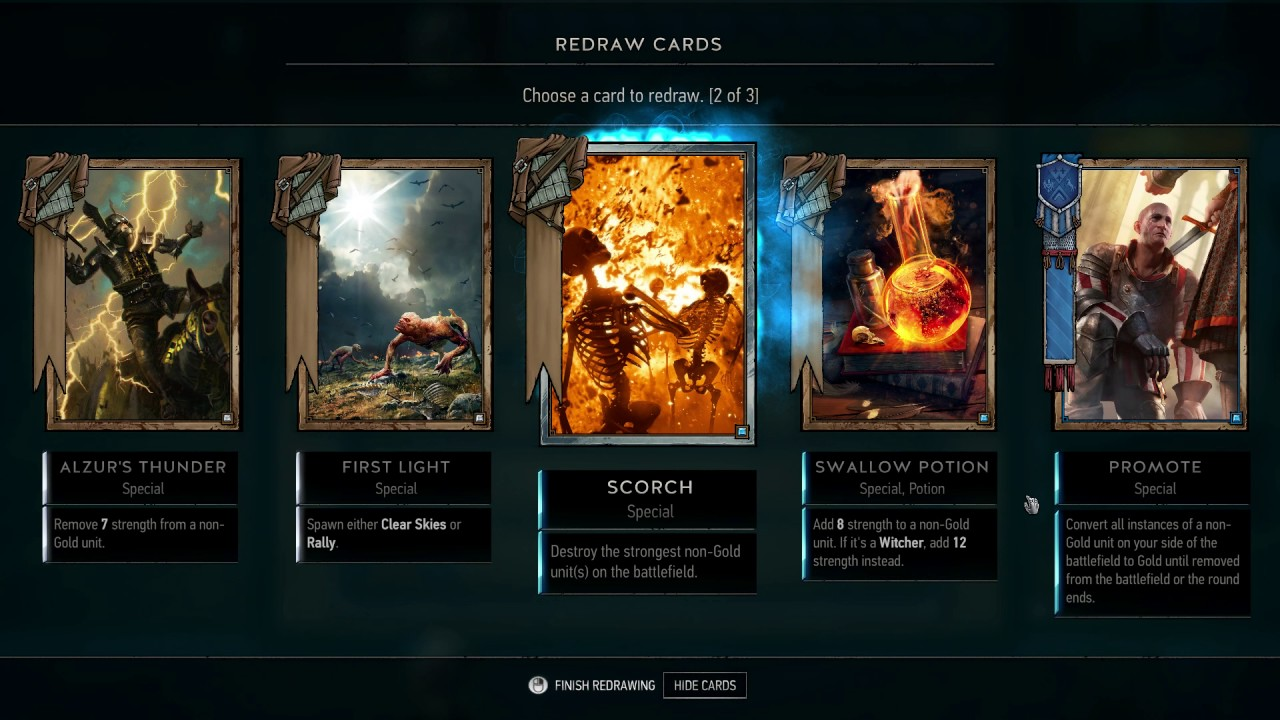 GWENT: The Witcher Card Game – Closed Beta #02