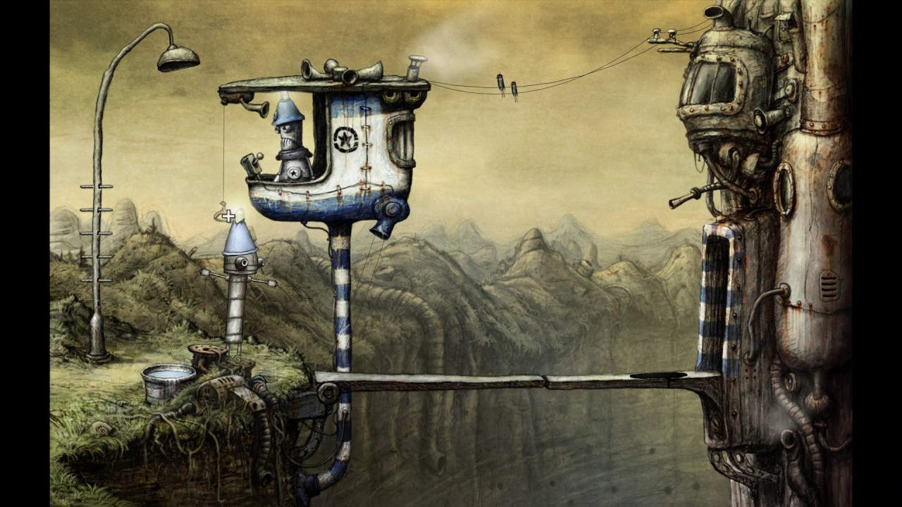 Machinarium – 01