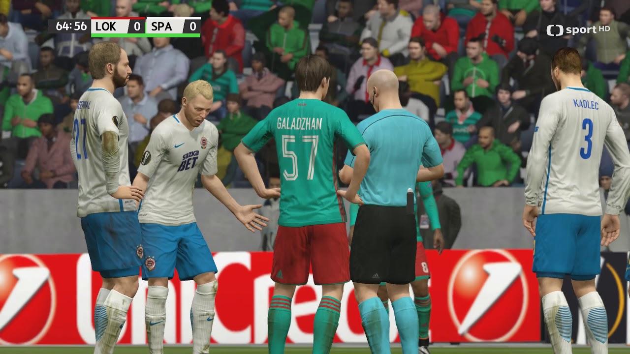 Česká liga do hry Fifa 16 – 18. zápas