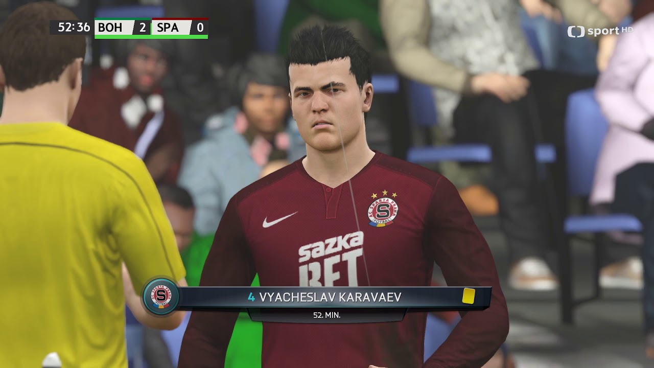 Česká liga do hry Fifa 16 – 9. zápas