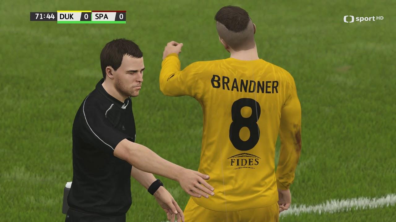 Česká liga do hry Fifa 16 – 11. zápas