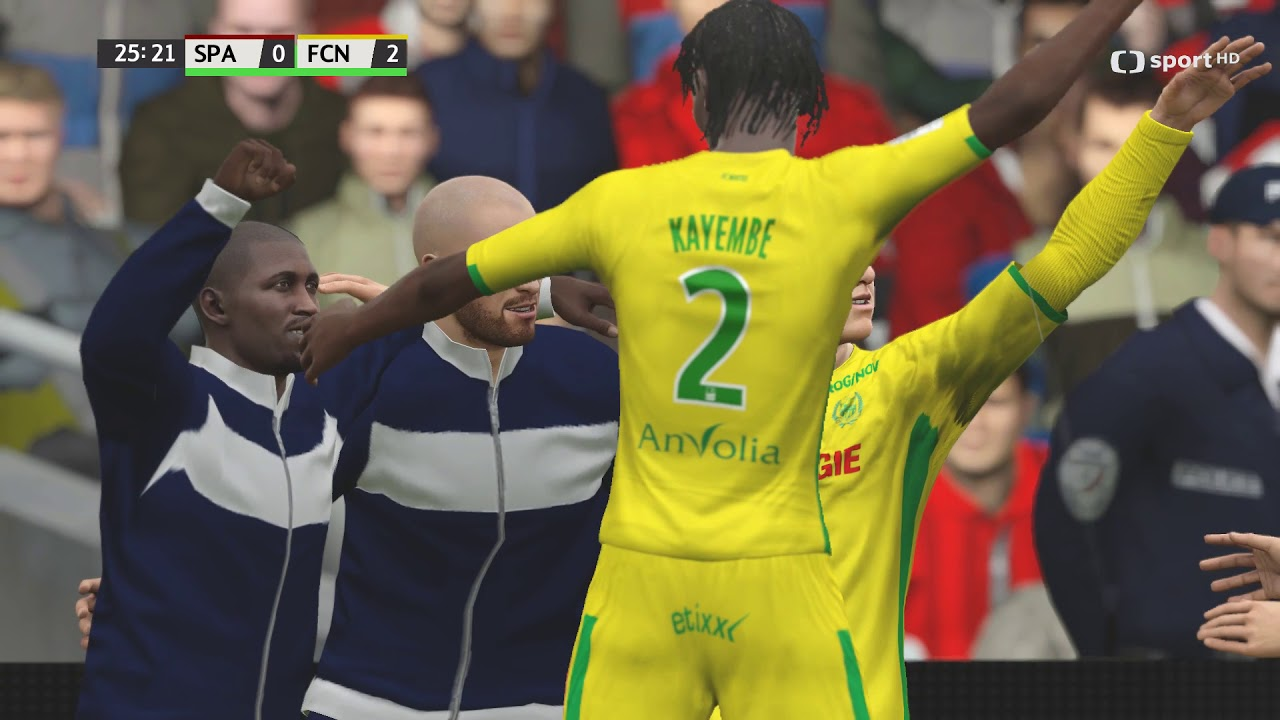 Česká liga do hry Fifa 16 – třetí zápas