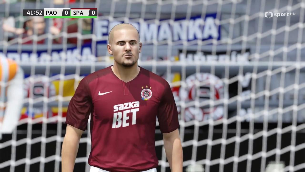Česká liga do hry Fifa 16 – druhý zápas