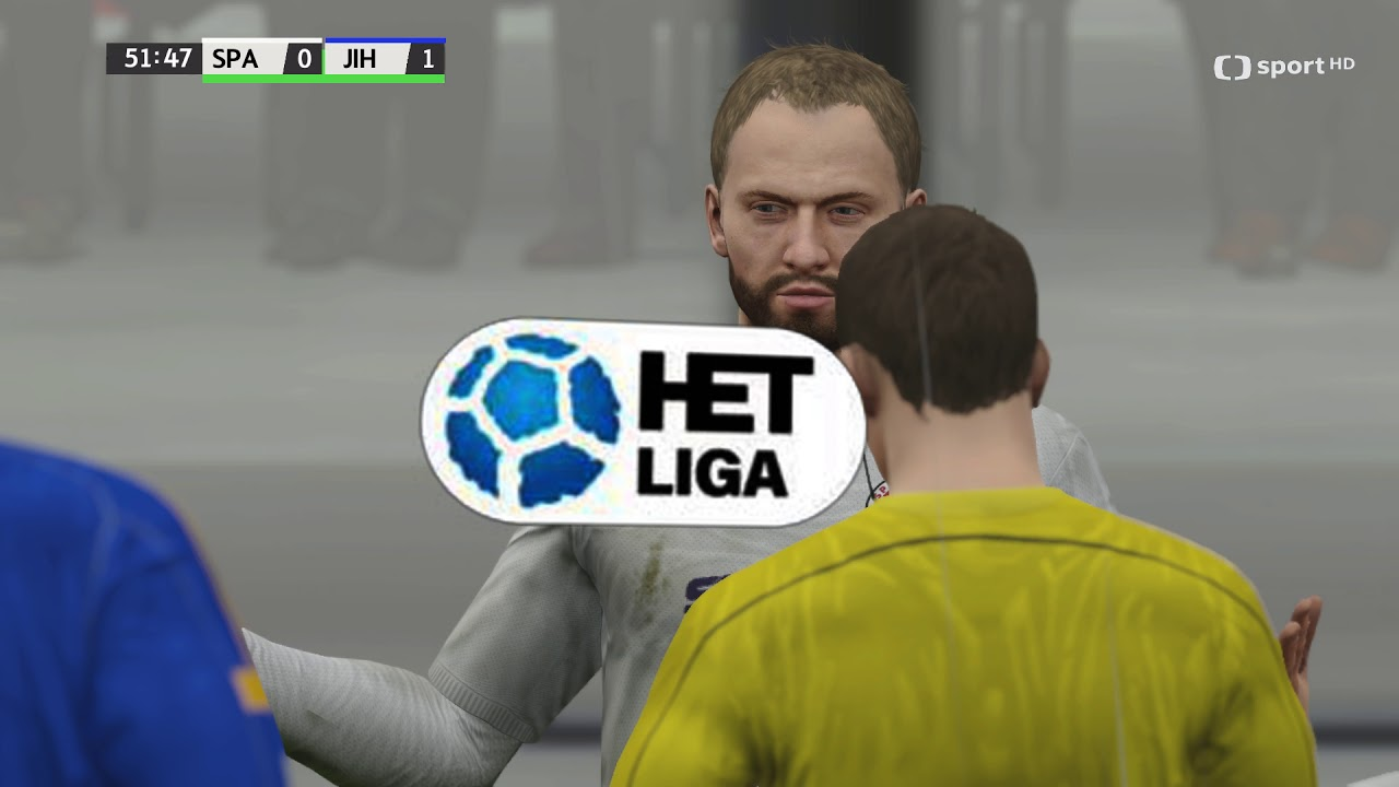Česká liga do hry Fifa 16 – 16. zápas