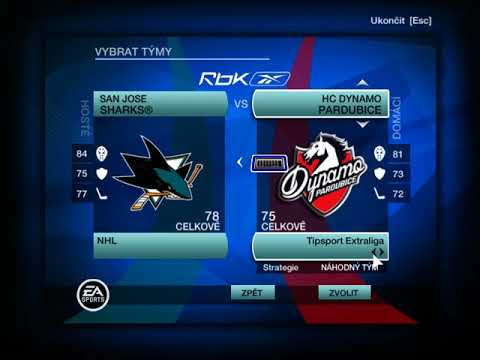 Loga do menu NHL 09 – 2017/18