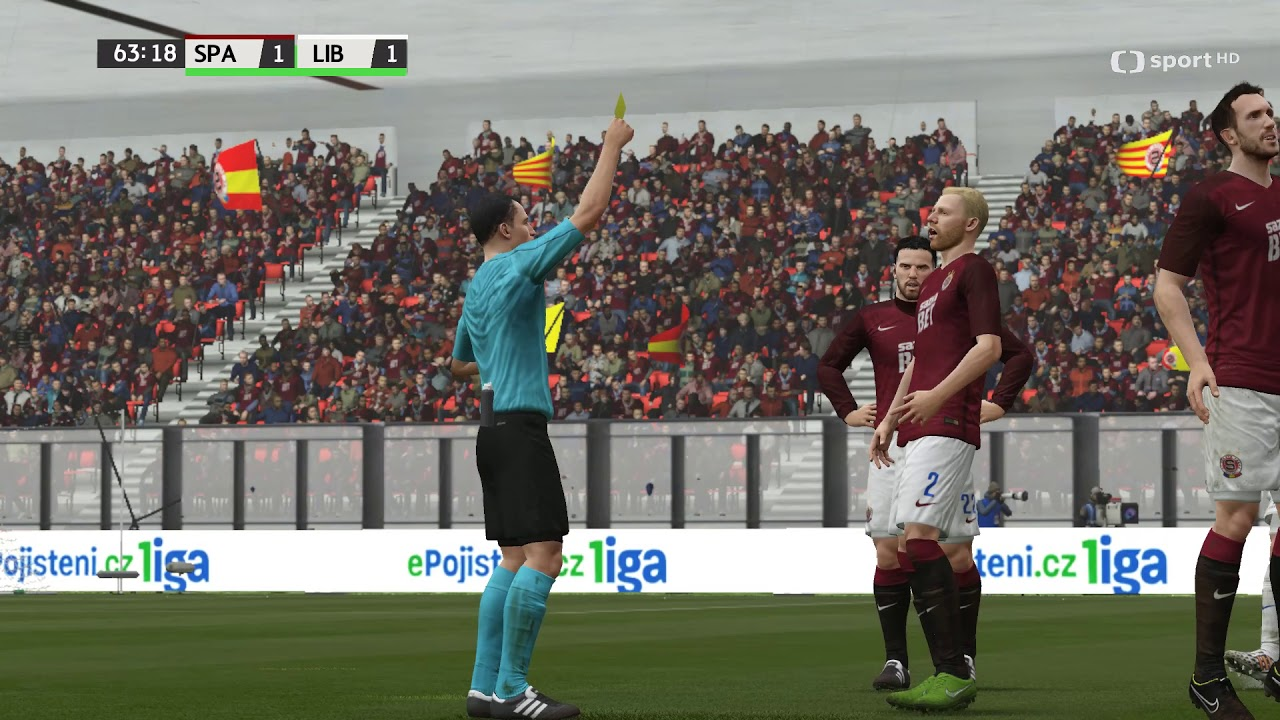 Česká liga do hry Fifa 16 – 19. zápas