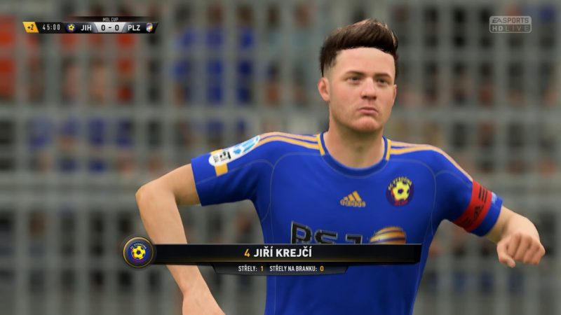 FIFA 18 – FC Vysočina Jihlava – FC VIKTORIA Plzeň