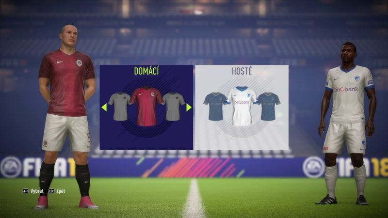 FIFA 18 – CZECH LEAGUE PATCH 2017/18