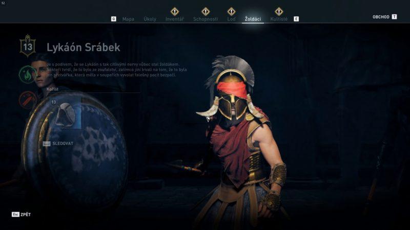 Assassin's Creed Odyssey – Snížení vlivu