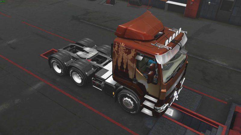 Euro Truck Simulator 2 – Vánoční doručování