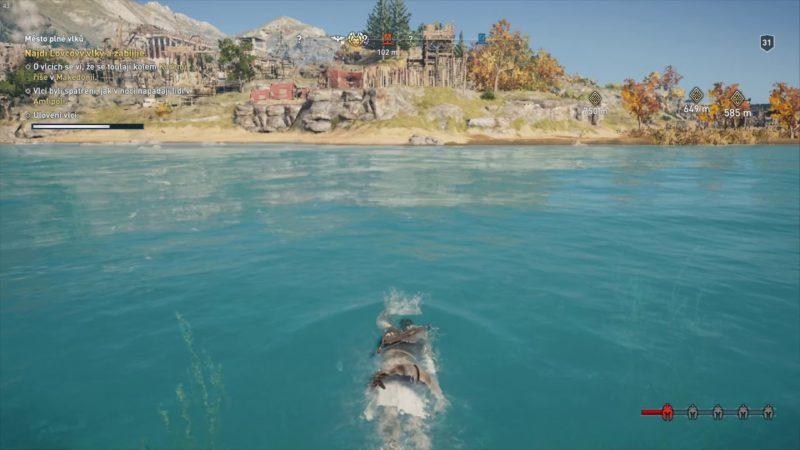 Assassin's Creed Odyssey – DLC Odkaz první čepele – Město plné vlků