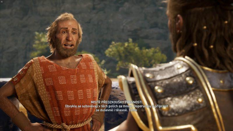 Assassin's Creed Odyssey – Předzkouška přesnosti