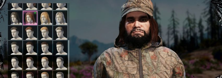 Far Cry New Dawn – Tvoření postavy