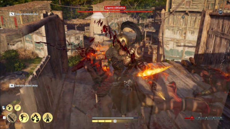 Assassin's Creed Odyssey – Popáleniny čtvrtého stupně