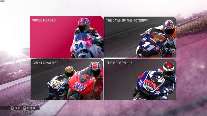 MotoGP™19 – Historical Challenges