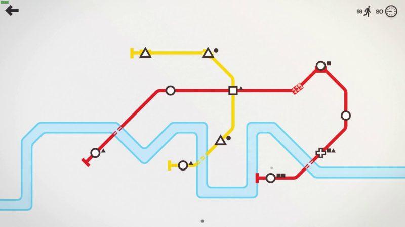 Mini Metro – Londýn