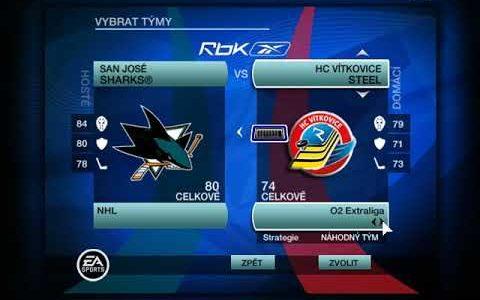 NHL 2009 – Loga do menu 2019/20