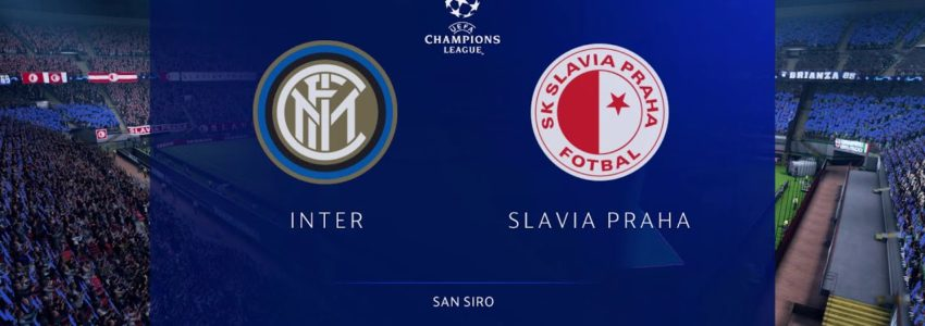 FC Inter Milán – SK Slavia Praha (FIFA 20) – Liga mistrů UEFA