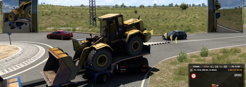 Euro Truck Simulator 2 – Iberia – Sevilla – Faro