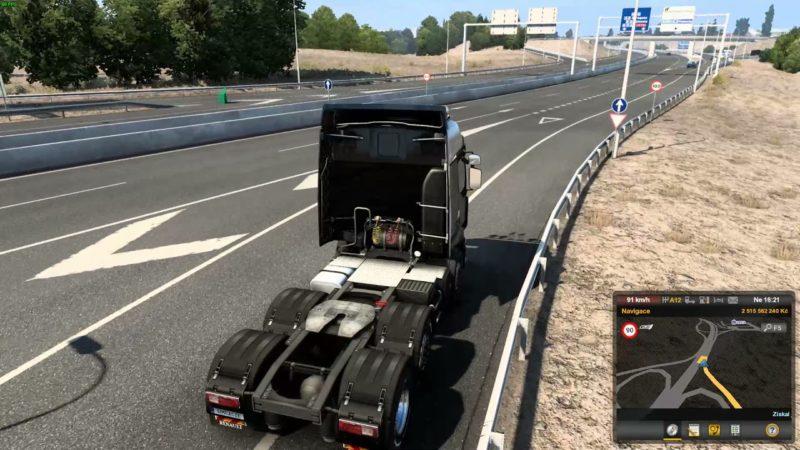 Euro Truck Simulator 2 – Iberia – Madrid