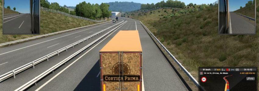 Euro Truck Simulator 2 – Iberia – Ponte de Sor – Salamanca